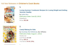 Loving Summer Cookbook is #1 in Children's Cookbook Hot New Releases