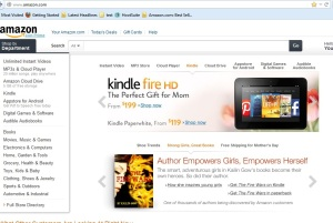 Kailin Gow Success Story on Front Page of Amazon on 4-30-2013