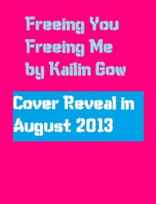 Freeing You Freeing Me Cover to be Reveal Cover