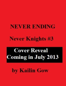 Never Ending Cover to be Reveal Cover