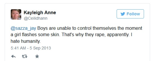 Book Lantern Blog Owner Kayleigh Anne Extremist Tweet